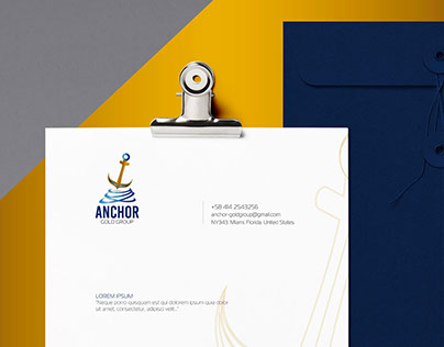 Anchor Gold Group Identity