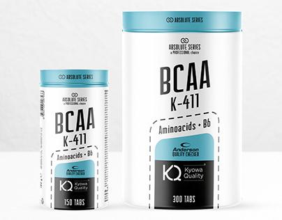 Brand e Packaging BCAA