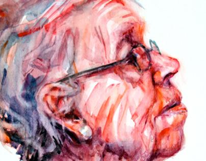 Quick Watercolor Portraits