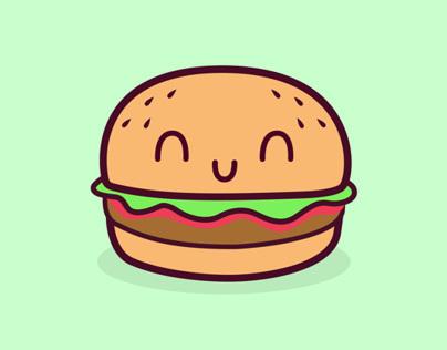 McDonalds Breakfast Illustrations