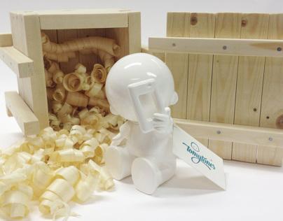3D character in Ceramic