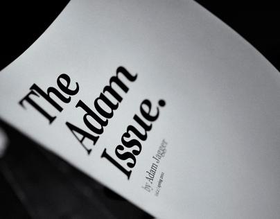 The Adam Issue Vol. 2