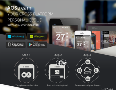 AOStream - A cross-platform cloud service