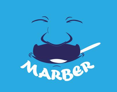 Logo for Marber - yogurt company