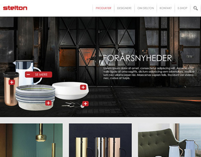 Web Design: Stelton