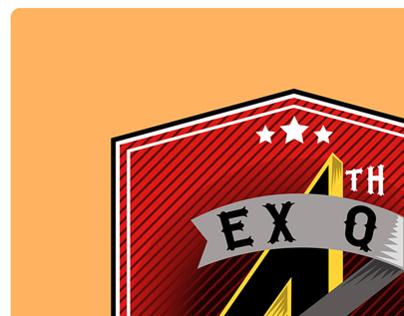 EX Q - BIRTHDAY CELEBRATION LOGO