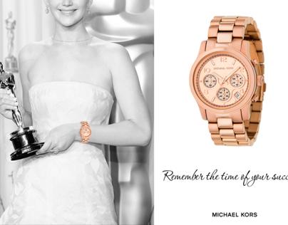 AD for Michael Kors