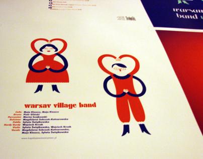 Warsaw Village Band – cover vinyl