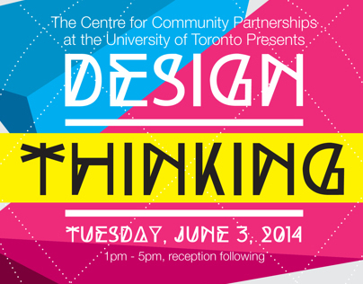 Design Thinking Poster | University of Toronto