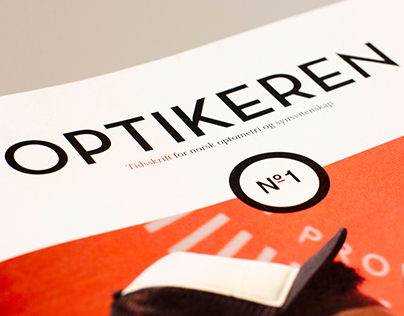 Optikeren – a magazine for opticians and customers