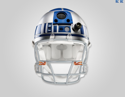 Star Wars x Football Helmets
