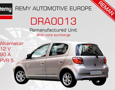 Remy Automotive folders