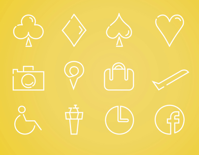 Miscellaneous travel icons #1
