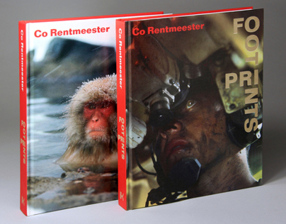 Photobook design FootPrints, Co Rentmeester