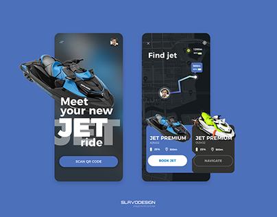 Jet Booking App