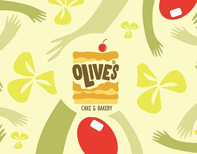 Re-branding Olives cake & bakery