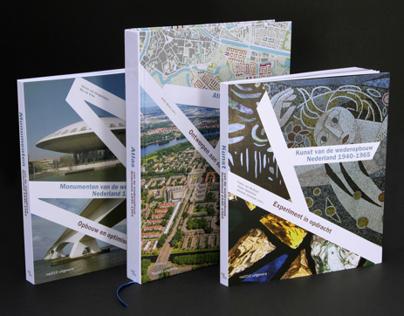 Book design Monumenten/Kunst/Atlas van de wederopbouw