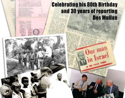 Des Mullan - 80th Birthday - Celebrating Journalism