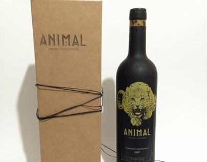 Animal Wine Packaging
