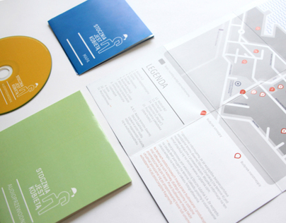 Audioguide – Visual Identity, Map