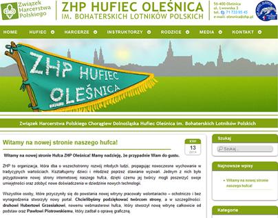 olesnicazhp.pl website