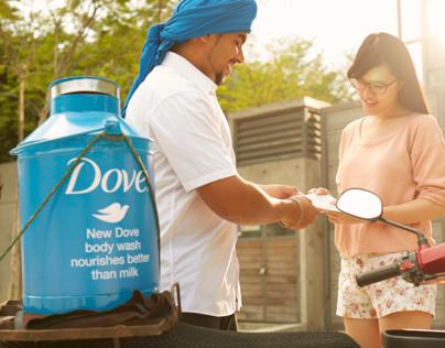 Dove Milkman - Sampling Activation