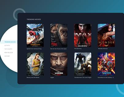 Movie DB Dashboard UI