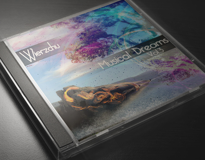 """Cover to music mix """"Musical Dreams vol.3"""" by Wierzchu"""