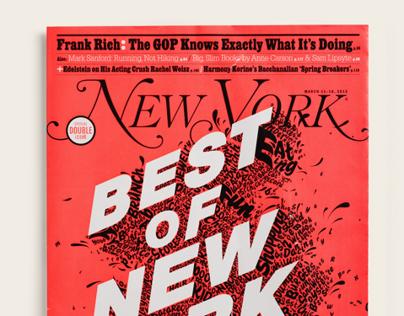 New York Magazine Covers