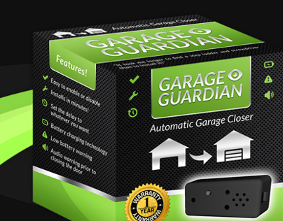 Garage Guardian Packaging