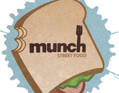 Munch Street Food Logo
