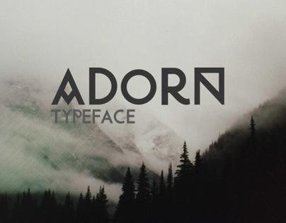 Adorn Typeface