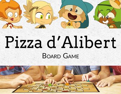 Pizza d'Alibert - Board game
