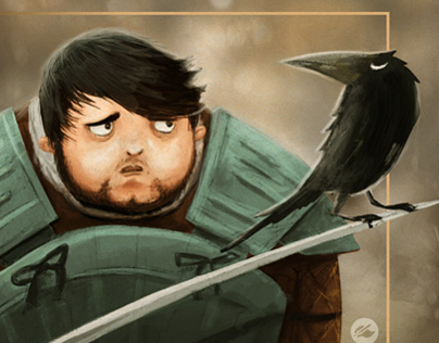 Samwell Tarly - The Cards of Ice and Fire