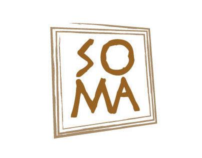 SOMA wine packaging
