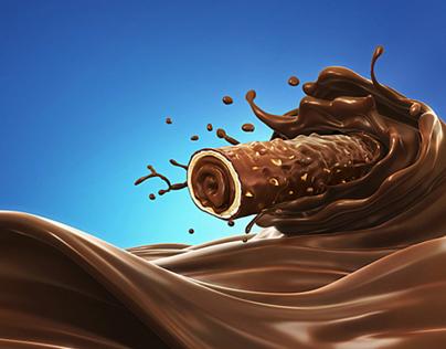 Nacional de Chocolates (Costa Rica) - Chiky Barquillo