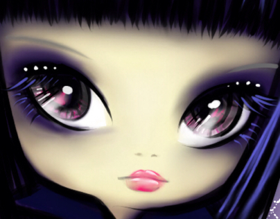 Lilou punk Gothic Lolita