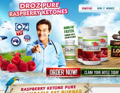 Dr Oz Pure Rasberry Ketones