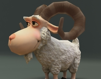 Game character design and low poly modeling