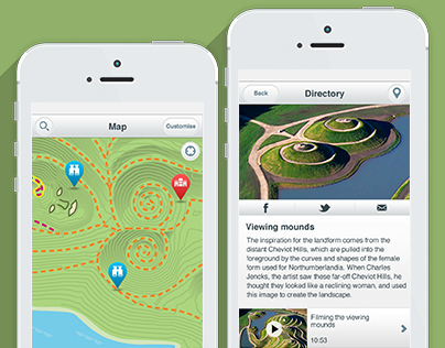 Nlandia, Location Based App