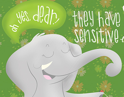 Children's Book - Elephants are Awesome