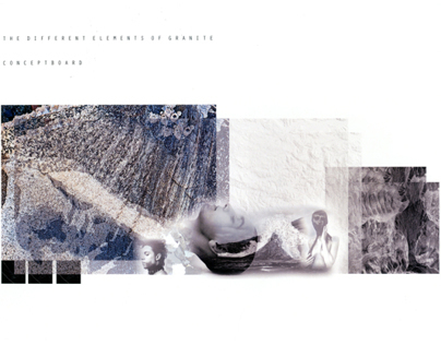 granite . collection . concept . illustration