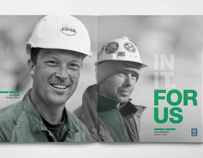 CBUS Superannuation Principal Brochure Concept