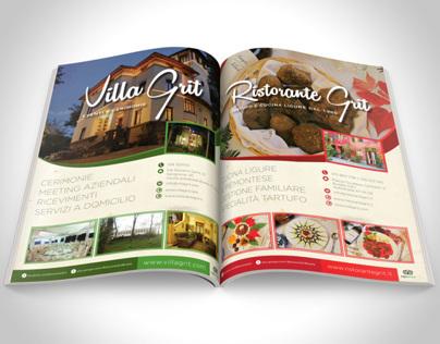 Ristorante Grit Magazine Adv