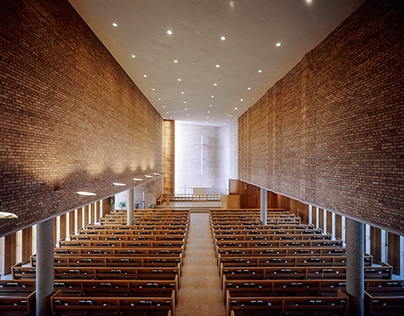 4x5: Christ Church Lutheran - Color