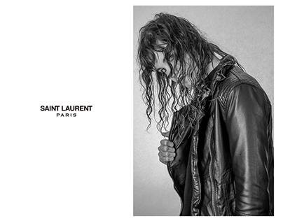 Saint Laurent Fashion Ad Campaign Creation