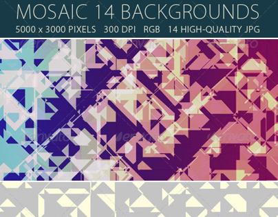 Mosaic Background - 14