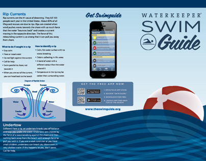 Waterkeeper Swimguide Brochure