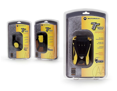 Motorola Tools of the Trade Packaging and Merchandising