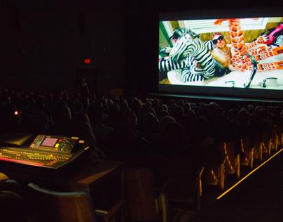 Edmonton Music Awards 2014 prep. Time lapse video.